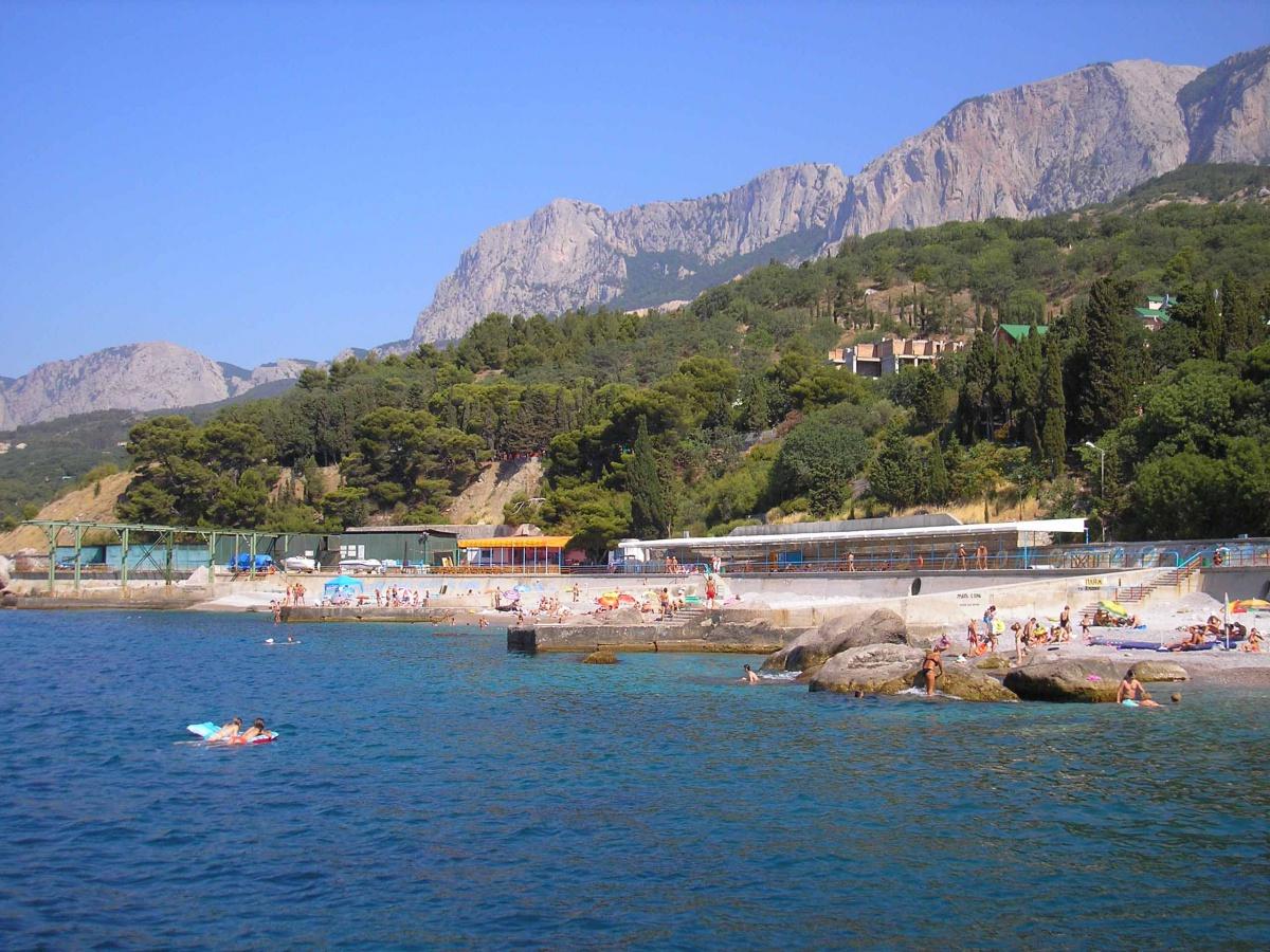 пляжи парковое крым фото величество