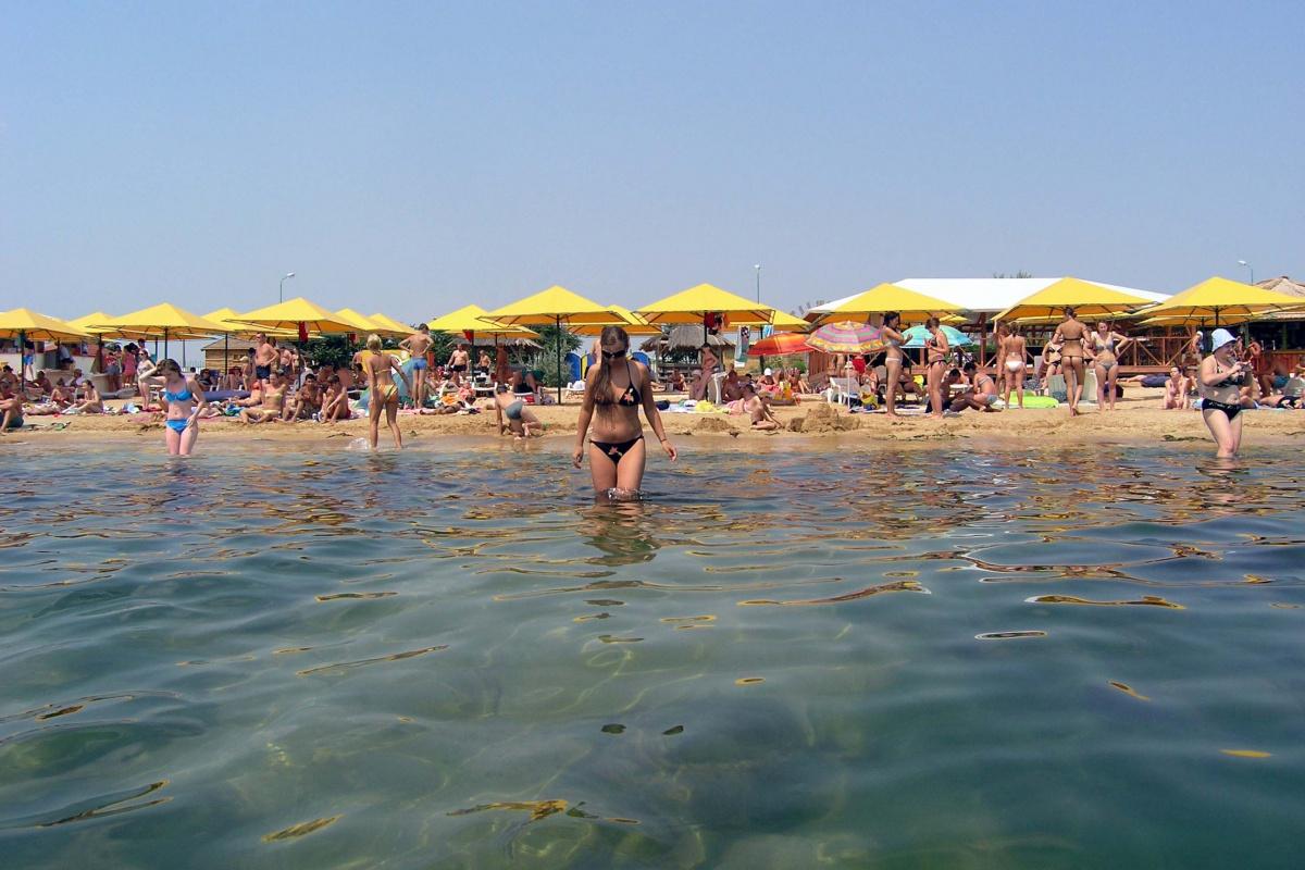 Пляж тихая бухта коктебель фото брендом