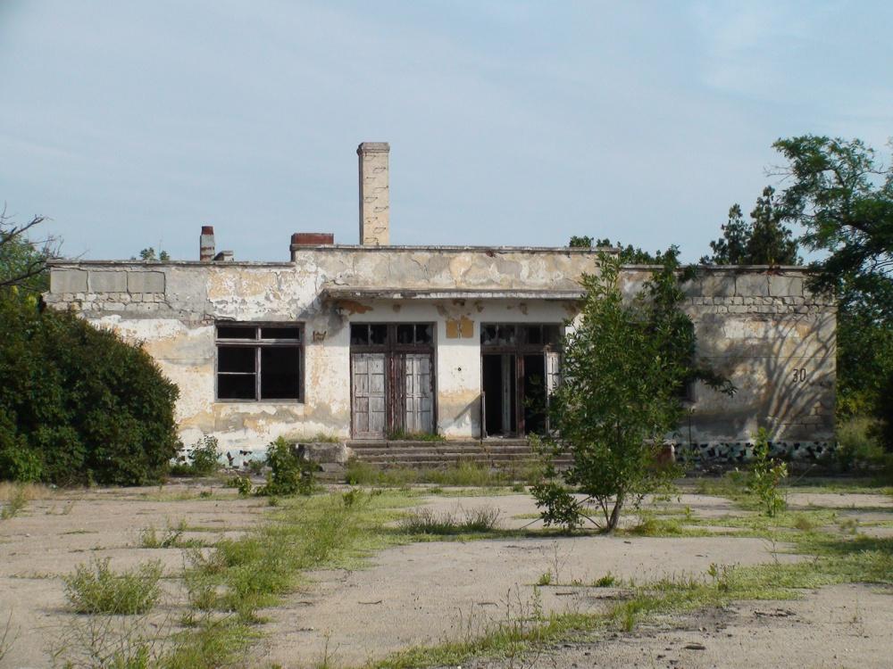 заброшенные здания в крыму фото