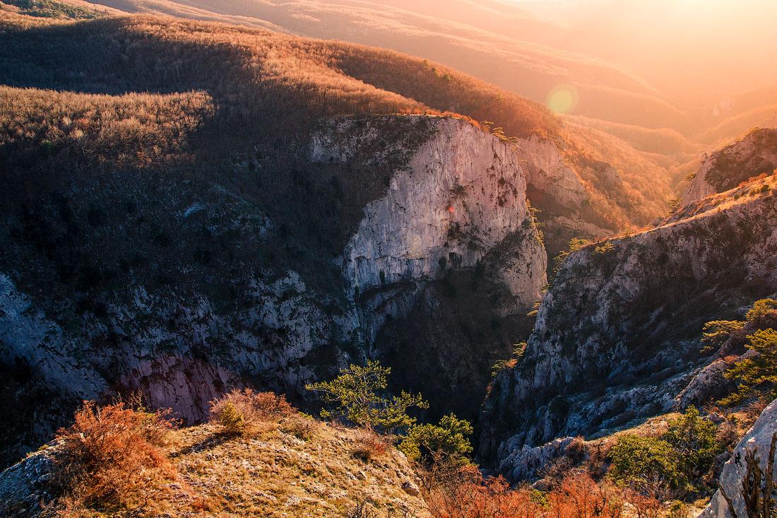 Фото большого каньона в крыму
